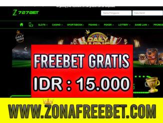 727Bet Freebet Gratis Rp 15.000 Tanpa Deposit