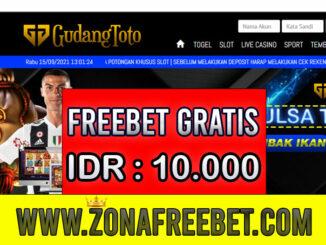 GudangToto Freebet Gratis Rp 10.000 Tanpa Deposit