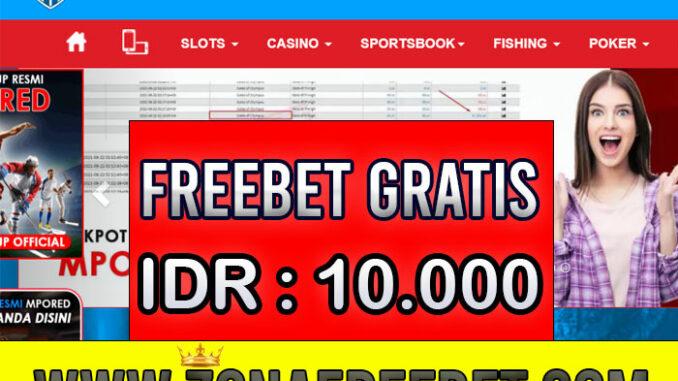 Mpored Freebet Gratis Rp 10.000 Tanpa Deposit