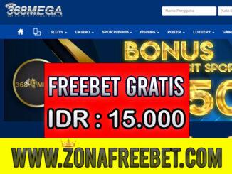 368Mega Freebet Gratis Rp 15.000 Tanpa Deposit