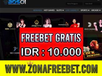 BOS01 Freebet Gratis Rp 10.000 Tanpa Deposit