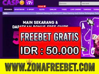 Caspo777 Freebet Gratis Rp 50.000 Tanpa Deposit