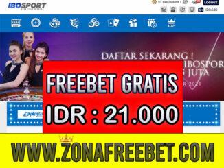 IBOSport Freebet Gratis Rp 21.000 Tanpa Deposit