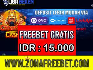 LigaBeken Freebet Gratis Rp 15.000 Tanpa Deposit