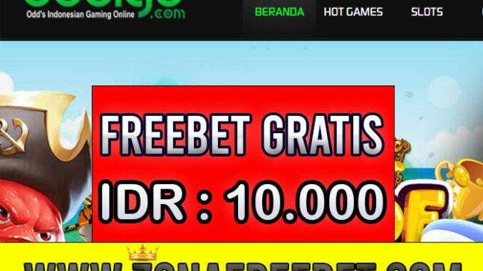 ODDIGO Freebet Gratis Rp 10.000 Tanpa Deposit
